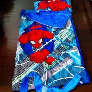 Spider Man Sleeping Camping Bag